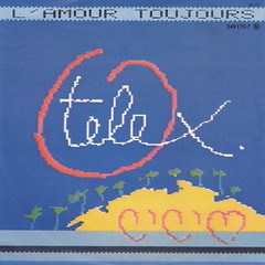 1982_telex_l_amour (Marc Wathieu) Tags: music belgium belgique coverart vinyl pop cover record sleeve chanson chansonfranaise vinylcover sleevedesign frenchchanson chansonbelge