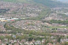Caerphilly from the hills (Dai Lygad) Tags: photo picture phtograph caerphilly caerphillymountain wales southwales op photography image jeremysegrott dailygad flickr photograph paysdegalles pasdegales
