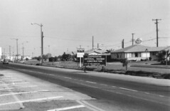 Westminster City Limit, Bolsa Ave at Eden St., Aug. 1962 (Orange County Archives) Tags: california history westminster market supermarket historical southerncalifornia orangecounty bolsa alphabeta standardoil tracthousing housingtract orangecountyarchives orangecountyhistory cooperativearterialhighwayconstruction bolsacenter