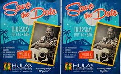 Where Will You Be? (jcc55883) Tags: hawaii oahu hulas williek hawaiianmusic poster ad nikon nikond3200 d3200 kaimuki 12thavenue