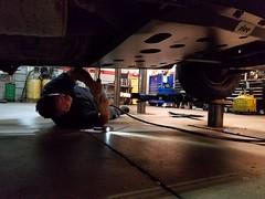 Slee Skid Plate Install (mrgarage) Tags: offroad landcruiser slee 100series tlca