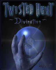 Twisted Hunt Fall 2016 Divination Poster (Sredni Eel (avatarbizarre.wordpress.com)) Tags: blue games event secondlife find hunt divination slfashion twistedhunt avatarbizarre