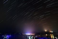 (Clonedbird  & Iris ) Tags:          star trail sunmoonlake longexposure