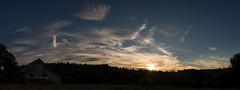 Sunset, 7.24.16 (koperajoe) Tags: sunset sky evening dusk clouds glamour panorama