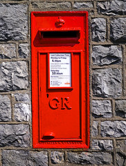 GR Postbox Silverdale (wontolla1 (Septuagenarian)) Tags: silverdale cumbria yealand conyers heald brow national trust lime kilns kiln