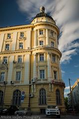 """ "" 1 / Ivan Vazov Street 1 (AVasilev) Tags: ivan vazov street building architecture sunset sky clouds sofia"