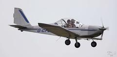 EV-97 Teameurostar G-CFGX Lee on Solent Airfield 2016 (SupaSmokey) Tags: ev97 teameurostar gcfgx lee solent airfield 2016