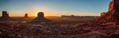 Holiday on Mars... (danielacon15) Tags: travel red panorama nature sunrise landscape outdoors utah amazing unitedstates desert natural landmarks monumentvalley climate mesas merger buttes americansouthwest navajotribalpark traveldestination
