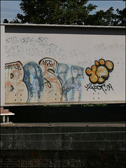 Bosh / 10Foot (Alex Ellison) Tags: northwestlondon urban graffiti graff boobs bosh dds 10foot