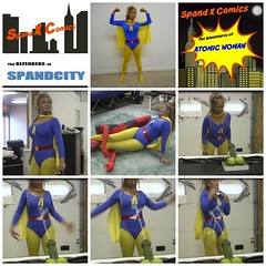 coll3 (jayphelps) Tags: spandex superhero superheroine fetish trapped peril