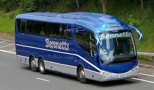 SCANIA Irizar - BENNETTS Coaches Kilwinning Ayrshire