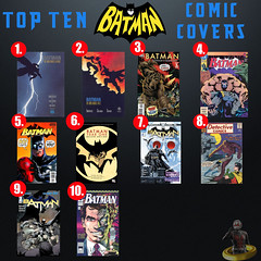 Top Ten Batman Comic Covers (AntMan3001) Tags: comic top ten batman covers