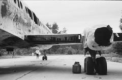 001566650022 (putjka) Tags: kiev4 analog film filmphotography kodak tmax100 bw retro plane abonded