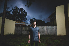 Sean. (micahprofferphotography) Tags: street portrait sky people storm art night clouds tampa high lowlight nikon florida f14 candid fine sigma iso nighttime portraiture d750 lightning 24mm moment epic micah clearwater decisive proffer