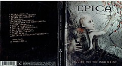 Epica - Requiem For The Indifferent (hube.marc) Tags: epica requiem for the indifferent cd disque pochette musique