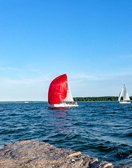 Sailboat races, New Suffolk (wagga9) Tags: depthoffield northfork newsuffolk