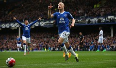 Naismith hattrick vs Chelsea (MekyCM) Tags: soccer premier league football premierleague england wales britain unitedkingdom arsenal chelsea liverpool mancity united futbol futebol barclays leicester pitch supporters celebration southampton palace westham everton spurs newcastle stoke swansea sunderland watford westbrom bournemouth norwich villa