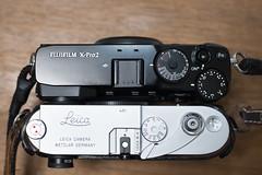 FUJIFILM X-Pro2Leica M-A (Camera of Bob) Tags: leica ma fujifilm xpro2