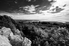 The View South (nigelhunter) Tags: wood cloud tree landscape bay view south hill lancashire limestone lancaster morecambe fell crag warton