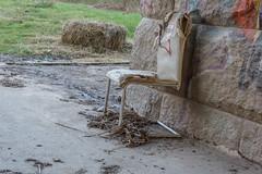 Ein Stuhl unter ... (thomas.bader1960) Tags: mannheim badenwrttemberg deutschland de marode abandoned