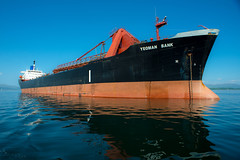 Sleeping leviathan..... (Dafydd Penguin) Tags: yeoman bank ship vessel bristol channel monrovia firth lorn scotland west coast coastal coasting sea tanker anchor nikon d600 nikkor 20mm af f28d