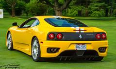 Ferrari 360 Challenge Stradale (scott597) Tags: ferrari 360 challenge stradale yellow club america annual meet 2016 columbus ohio fca