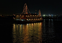 Restaurant Boat (mysticislandphoto) Tags: travel viet vietnam nam saigon hochiminh river mekong
