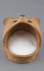 Hedgehog Salt Crock (Ryan McCullen) Tags: animal wildlife wild salt crock cellar saltpig saltcrock saltcellar clay ceramic stoneware pottery sculpture handmade wheel wheelthrown hedgehog hedgie functional holder home kitchen