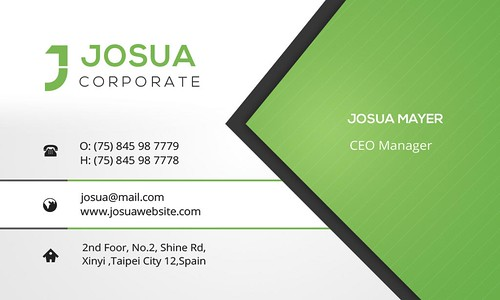 02_Front Side Business Card