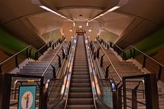 Salida (waltercastro) Tags: subte metro argentina escalera salida
