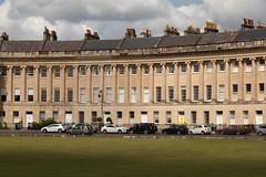 Cloud shadows | Royal Crescent | Bath-10 (Paul Dykes) Tags: bath somerset uk england georgian johnwoodtheyounger horn column 18thcentury eighteenthcentury gradeilistedbuilding