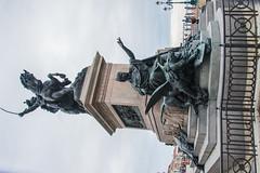Venice - Statue of Victor Emmanuel II on Riva Degli Schiavoni (Le Monde1) Tags: italy venice unesco worldheritagesite lemonde1 nikon d610 veneto canals fondamenta calle city water palazzo art architecture statue victoremmanuelii rivadeglischiavoni