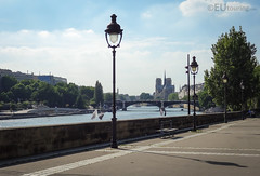View over the river and Paris (eutouring) Tags: paris france riverseine river seine view notredame notredamecathedral