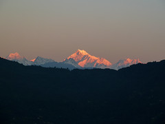Mt. Kangchenjunga - morning light (S_Artur_M) Tags: india indien travel reise sikkim himalaya kangchenjunga mountains panasonic lumix landscape landschaft tz10