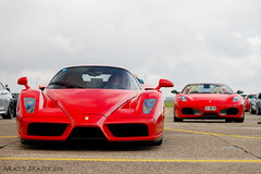 Father and Son (MJParker1804) Tags: ferrari enzo f60 v12 hypercar f430 spider convertible v8 rosso corsa red supercar
