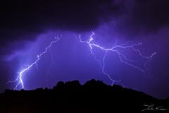 Provenal Lights IV. (Tristan K.) Tags: clair lightning thunder tonnerre orage storm weather tempest tempte clouds nuages sky ciel flash shadow ombres night nuit nocturne roquebrunesurargens rocherderoquebrune lights
