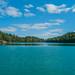 Beautiful scenery at Pink Lake