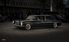Black beauty (salas-3) Tags: car auto limo limusine black mercedes
