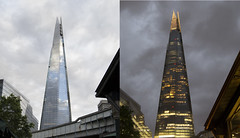 (IlPoliedrico) Tags: londra london england inghilterra day night skyscraper grattacielo shard architecture architettura dayandnight
