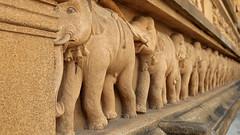 Kelaniya Elephants (IMG_2176b) (Dennis Candy) Tags: srilanka ceylon serendip serendib kelaniya solosmasthana temple holy sacred buddhism culture heritage tradition religion buddha elephant carving art stone