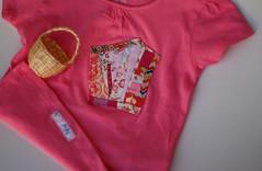 Para a L  /  For L (Canela Cheia) Tags: algarve canebaskets cestasdecana corderosa criana girl kids menina pink tshirts
