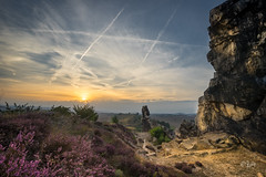 2016 Sunset at Devils Wall (jeho75) Tags: sony ilce 7m2 minolta mc rokkor 17mm f4 deutschland germany harz teufelsmauer devils wall sonnenuntergang sunset hdr