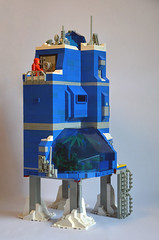 Ice Planet Research Complex 04 (IamKritch) Tags: space classicspace science base neoclassicspace lego