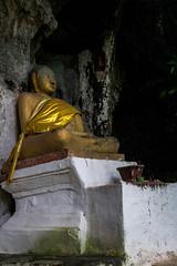 Monk statue (rflexit) Tags: asia laos pak ou caves travel mekong buddha