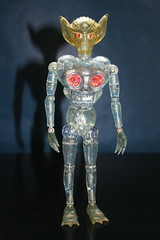 Invader Z (Takara 1970's) (Donald Deveau) Tags: invaders invaderz takara henshincyborg toys vintagetoy japanesetoy kaiju alien actionfigure