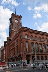 Red City Hall (Rotes Rathaus) (Christopher M Dawson) Tags: rathaus waesemann government city hall viking baltic scandinavia homelands travel international foreign tourism adventure history scenery art architecture europe 2016cmdawson nikon germany berlin capital urban