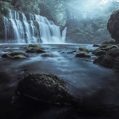 Sgwd Y Pannwr (A C Hughes Photography) Tags: water waterfall wales waterscape rain mist fog morning brecon breconbeacons longexposure ystradfellte nationalpark nature landscape landscapephotography achughesphotography