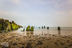 Getting low at Walberswick, Suffolk (Bob Foyers) Tags: wordpress foyersphotography 1740mml canon6d ndfillter10stop suffolk walberswick waves beach dogwood52 longexposure ndfilter nd1000
