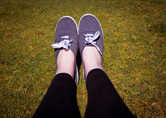Resting (Laura Burden Photography) Tags: park feet beautiful weather relax grey shoes legs sheffield norfolk relaxing scenic stretch enjoy stretching