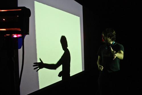 "WORKSHOP: Percepce lidského oka / Video jako zdroj světla na divadle • <a style=""font-size:0.8em;"" href=""http://www.flickr.com/photos/83986917@N04/16464238804/"" target=""_blank"">View on Flickr</a>"